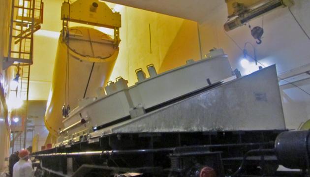 На Хмельницькій АЕС випробували обладнання сховища ядерного палива