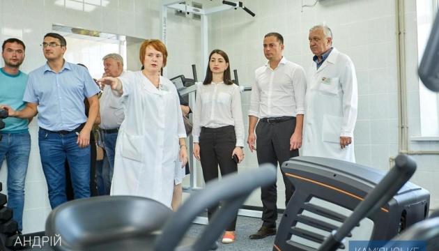 На Дніпропетровщині відкрили реабілітаційний центр для військових