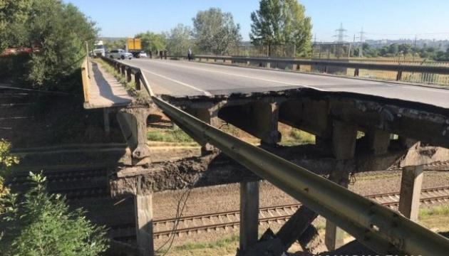 Обвал моста у Харкові: Споруда півтора року була в аварійному стані