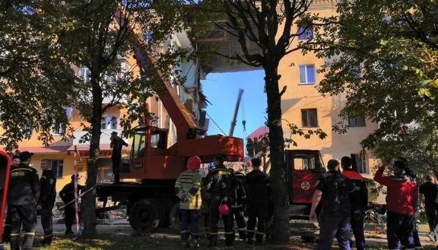 Обвал будинку у Дрогобичі: газовики заявляють, що вибуху не було