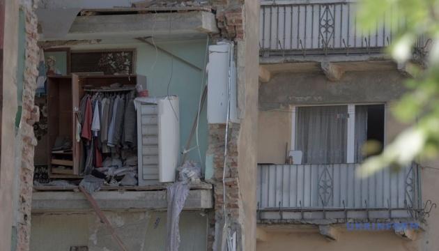 Дрогобич оголосив жалобу за загиблими під час обвалу будинку