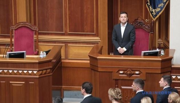 Президент пропонує Раді призначити Гончарука Прем'єром