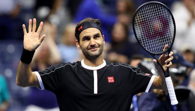 Федерер провів 100-й матч на US Open і став рекордсменом Grand Slam