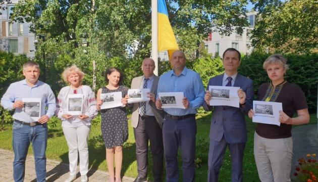 В Естонії вшанували воїнів, які загинули в боротьбі за незалежну, суверенну і цілісну Україну