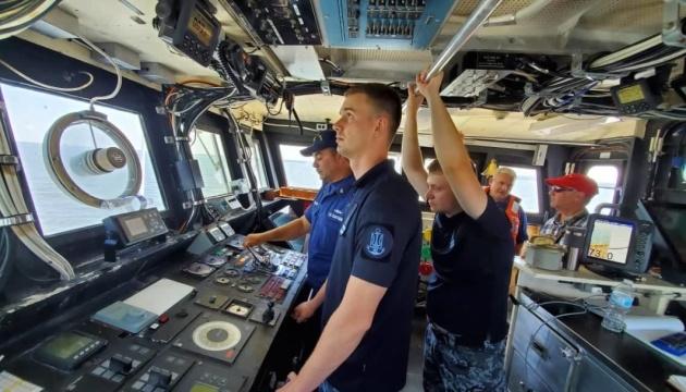 Українські екіпажі катерів типу