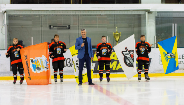 """Хокей: """"Донбас"""" і """"Кременчук"""" здобули перші перемоги на Kremenchuk Open Cup-2019"""
