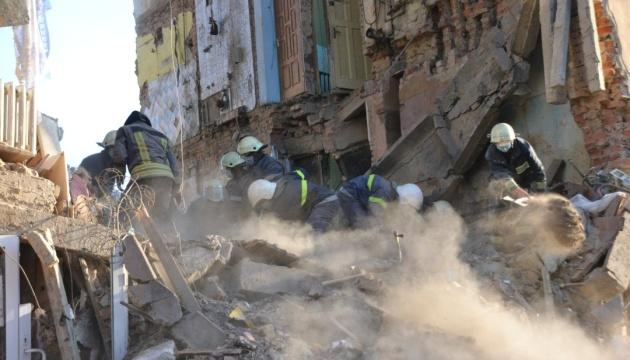 У Дрогобичі ховають загиблих внаслідок обвалу будинку