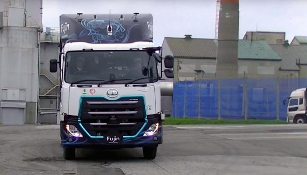 Volvo провела тест-драйв автономної вантажівки