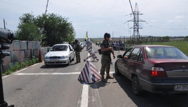 У КПВВ на лінії розмежування знаходилося 295 авто
