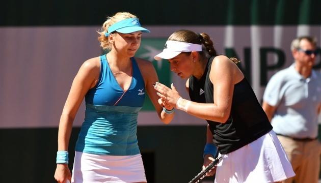 Людмила Киченок вышла во второй круг парной сетки US Open