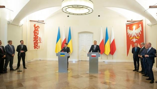 Зеленський обіцяє скасувати мораторій на ексгумацію  польських поховань