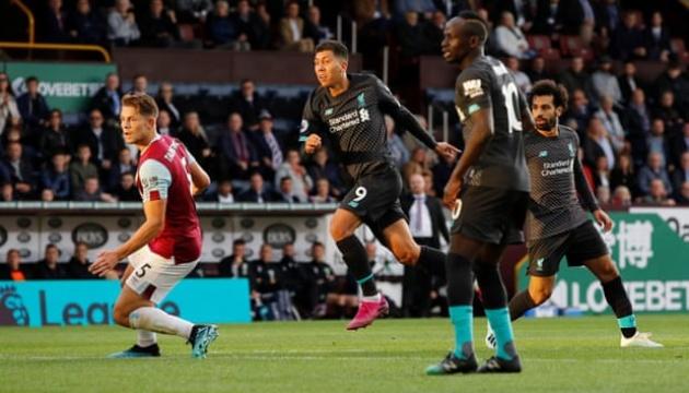 АПЛ: «Ліверпуль» обіграв «Бернлі» і повернув собі лідерство