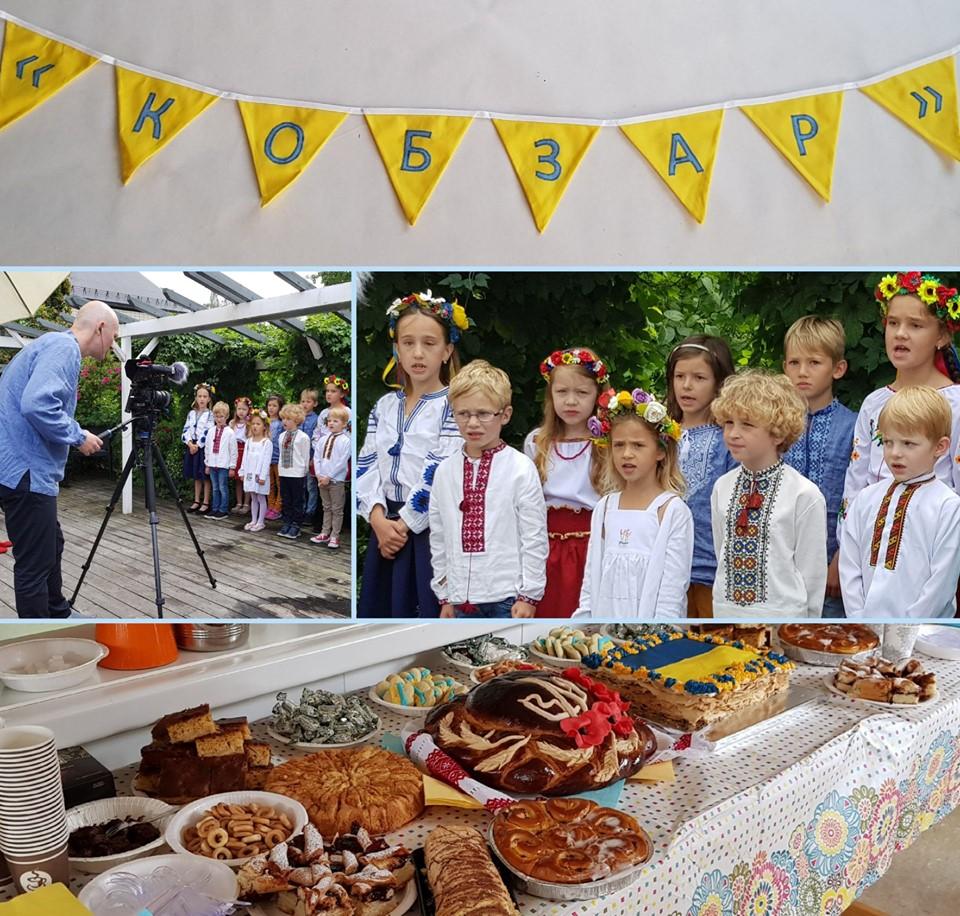 1567525990 234 - Учні української школи в Норвегії творчо привітали громаду з Днем Незалежності