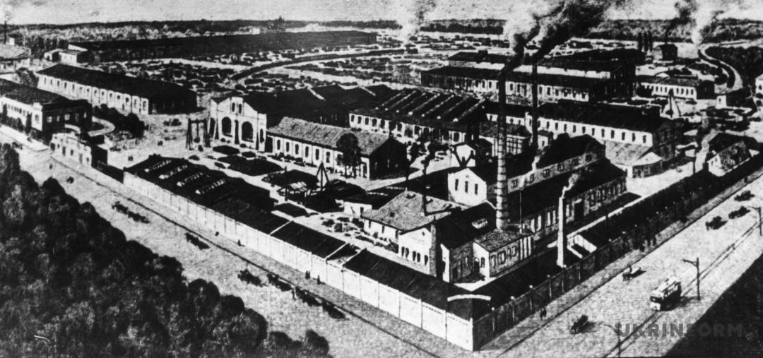 На київській Шулявці з 1882 року працював машинобудівний завод, який належав акціонерному товариству