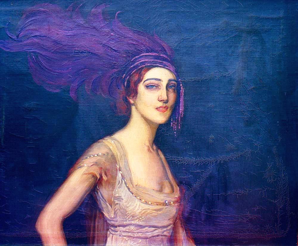 Антонио де Ла Гандара, портрет Иді Рубинштейн 1913 г.