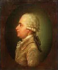 художник А. Максимов, портрет Дмитра Бортнянського, 1786 г.