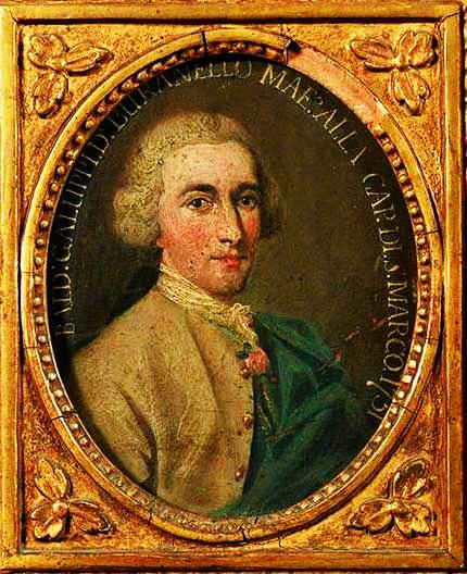 Портрет Б. Галуппі