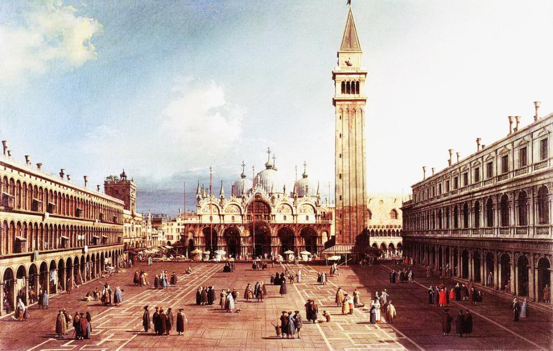 Дж.А.Каналь, площа Св.Марка у Венеції, 1730-1734 рр.
