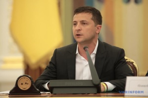 Zelensky expects law enforcers to solve case on fire in Gontareva's house