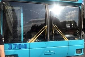 Mann scheißt im Obus in Kyjiw, zwei Verwundete - Foto