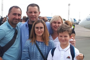 Roman Suschtschenko ist in der Ukraine