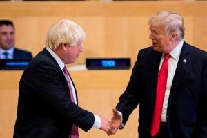 Джонсон і Трамп домовилися укласти торговельну угоду до липня 2020 року