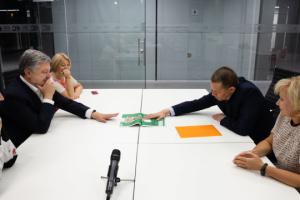 Poroschenko gratuliert Suschtschenko zu seiner Freilassung