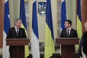 Zelensky advierte a Niinistö sobre el peligro del Nord Stream 2