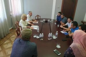 Денисова встретилась с адвокатами, которые защищают крымских татар