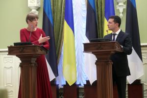 Zełenski: Estoński biznes dostrzegł już nowe możliwości na Ukrainie