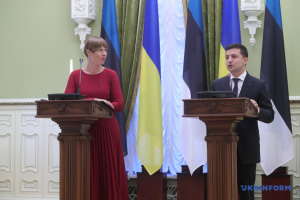 President: Elections in occupied areas of Donbas must be held in accordance with Ukrainian laws