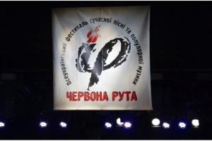 """На ювілейну """"Червону руту"""" до Чернівців приїде майже тисяча учасників"""