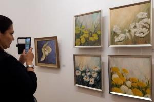 У Тбілісі відкрилася виставка української художниці Олександри Ляшко