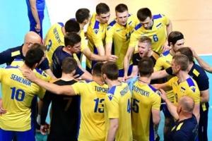 Сборная Украины обыграла волейболистов Черногории на чемпионате Европы-2019