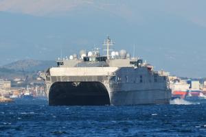 У Чорне море йде корабель ВМС США