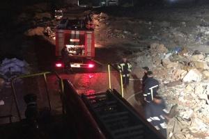 Рятувальники ліквідували пожежу на сміттєзвалищі поблизу Рівного