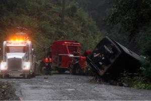 В Канаде перевернулся автобус: есть погибшие, десятки ранены