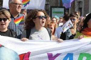 В Харькове проходит первый Марш равенства