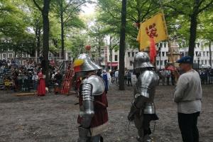 В Гааге состоялся исторический фестиваль с рыцарским турниром
