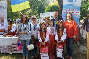 «Українське подвір'я» прийняло гостей на етнокультурному фестивалі в Кишиневі