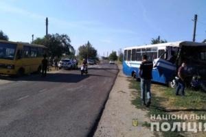 На Одещині зіткнулися дві маршрутки, у лікарні - майже 20 осіб