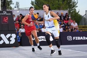 Вікторія Кондусь стала найрезультативнішою серед жінок на фінальному етапі Ліги націй 3х3