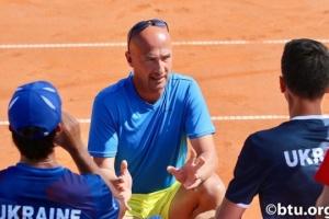 Капитан украинских теннисистов Медведев: Горжусь своей командой и ее игрой