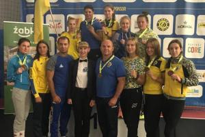 Жіноча збірна України з боксу здобула 7 нагород на міжнародному турнірі в Польщі