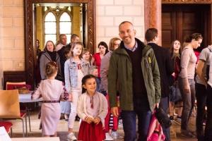 Навчальний рік в Українській суботній школі у Відні відкрили оперна співачка й козаки