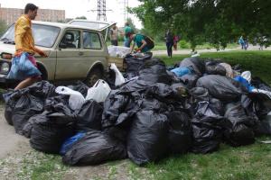 В Киеве в эти выходные проходит первый Петлюровский субботник