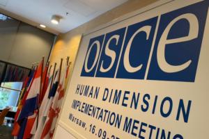 Українська делегація вирішила повернутися на нараду ОБСЄ після демаршу