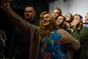Сенцов пришел на спектакль в киевский театр