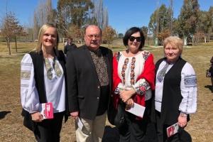 В австралійському місті Ковра відзначили 70-річчя створення Союзу українок Австралії