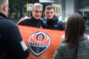 """Футболісти """"Шахтаря"""" в Харкові готуються до матчу з """"Манчестер Сіті"""""""